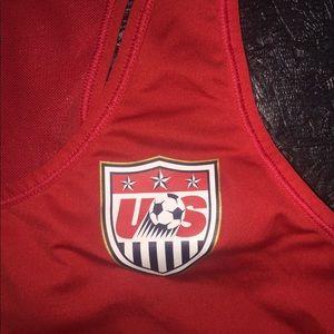 nike pro USA women's soccer tank
